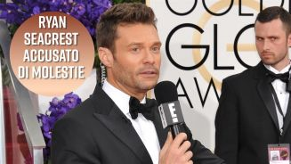 Oscar 2018: Ryan Seacrest, mina vagante sul red carpet